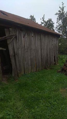 Stare deski że stodoly