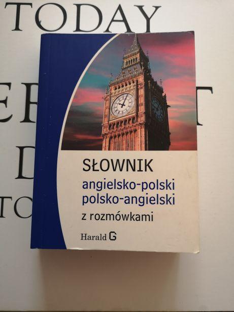 Słownik angielsko-polski Polsko-angielski z rozmówkami