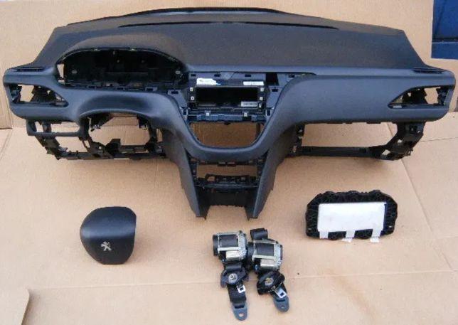 Peugeot 208 подушка Airbag радиатор торпедо коробка КПП коллектор