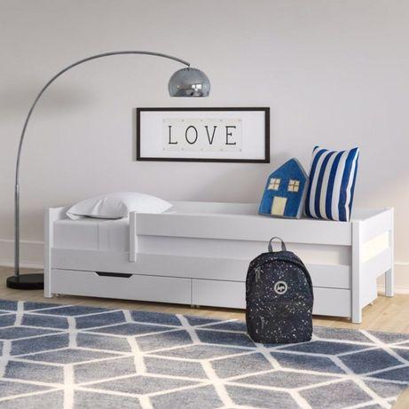 Кровать Детская Деревянная Винни 160х80 из Ольхи Подростковая Кроватка