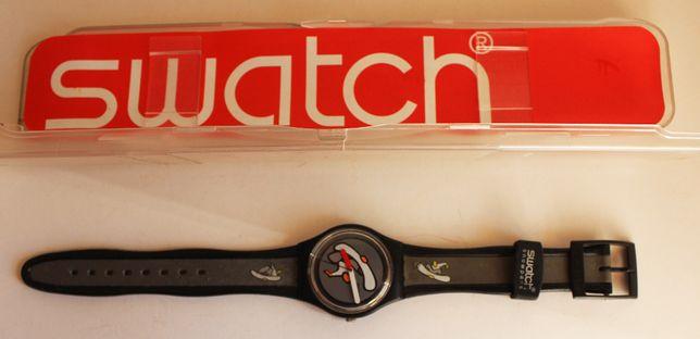 Relógio Swatch, skate, com estojo