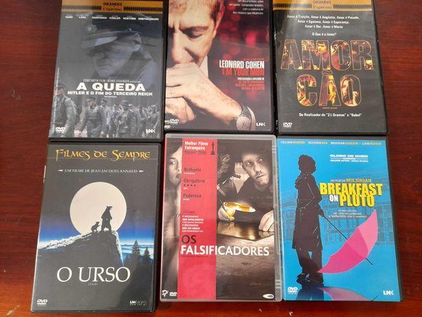 DVD'S incríveis para todos os gostos