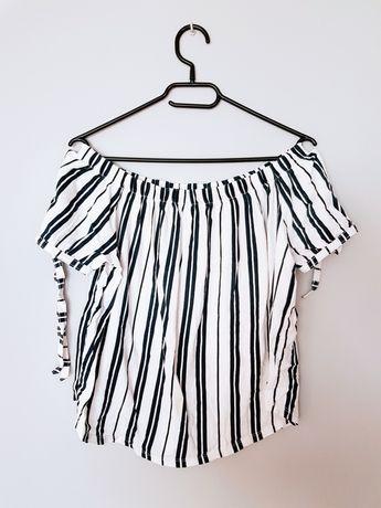 Bluzka hiszpanka H&M rozmiar S