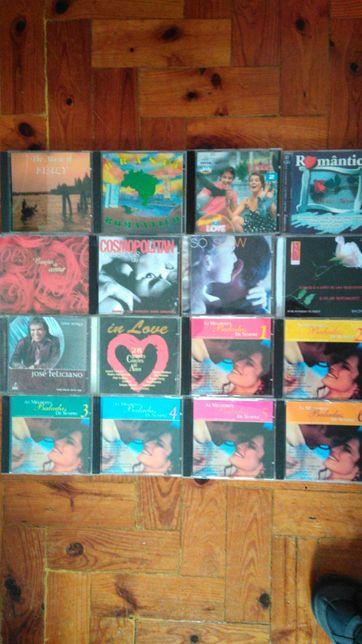 16 CDs música romântica