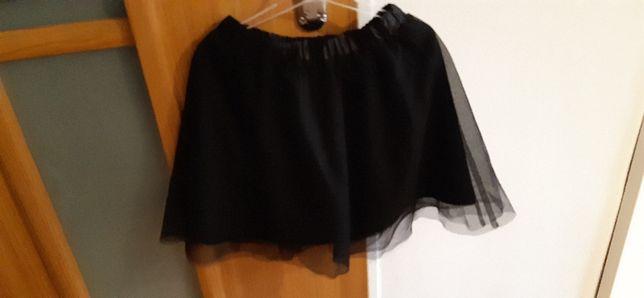 Spódnica czarna tiulowa 140