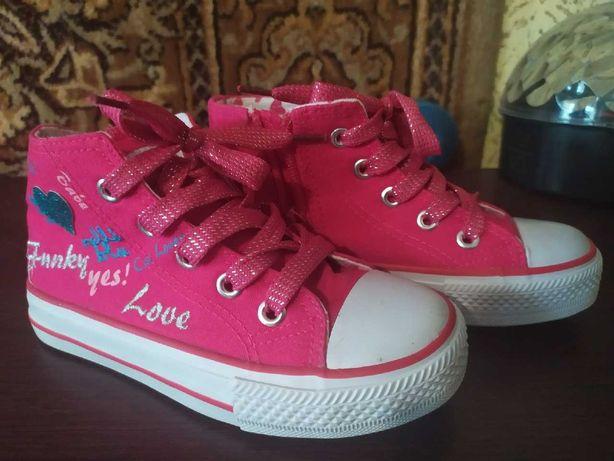 Розовые кеды для девочки Nelli Blu, 29 размер