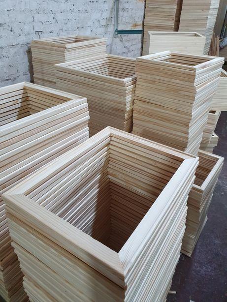 Подрамник деревянный, рейка для холста рамка