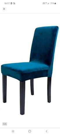 Pokrowce na krzesła welur