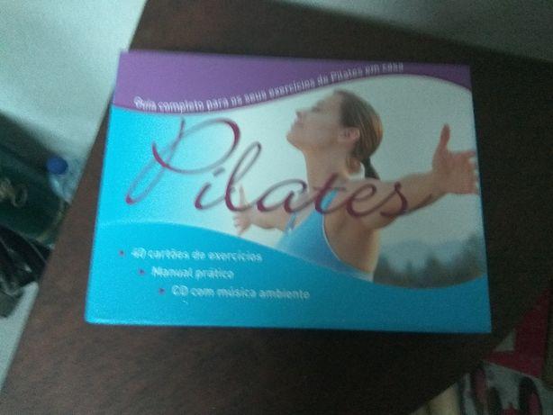 Cartões e CD de Pilates