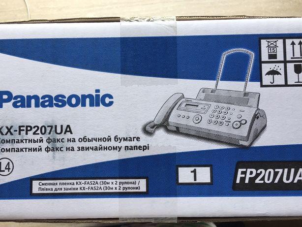 Факс - телефон Panasonic KX-FP207UA