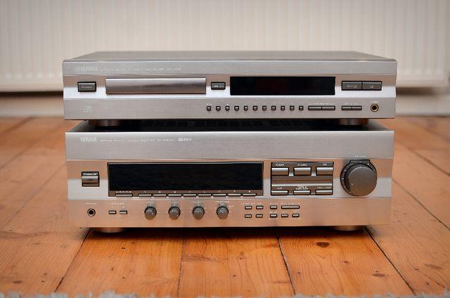 Yamaha amplituner + odtwarzacz CD