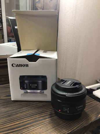 Продам объектив Canon EF 50/1,8 mm STM