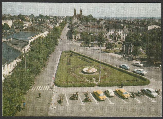 pocztówka - Kutno 1979 - plac 19 stycznia