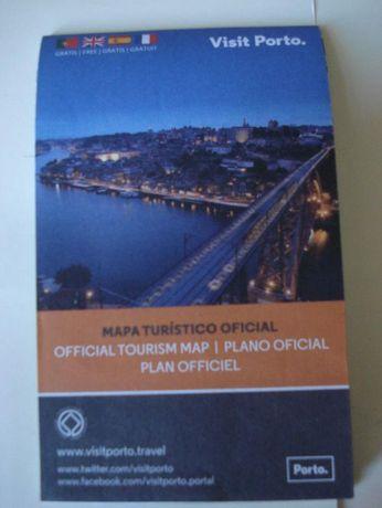 Mapa Turístico Oficial do Porto