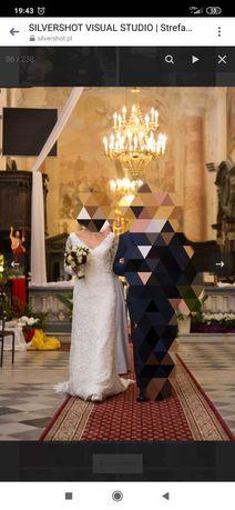 Suknia ślubna rozmiar 38 , 40