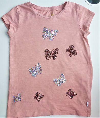 next bluzeczka w cekinowe motylki 122