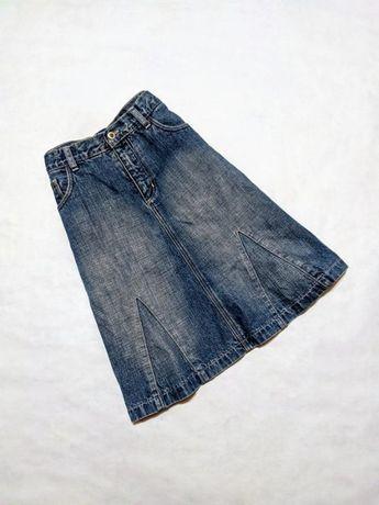 Юбка джинсовая голубая котон Amazing