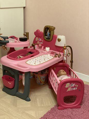Игровой центр Smoby Baby Nurse Комната малыша с кухней, ванной, спальн