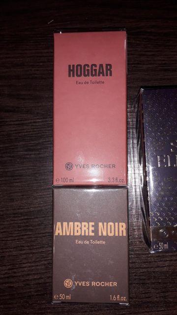 Мужская парфюмированная вода Ambre Noir/ Hoggar Yves Rocher Ив Роше