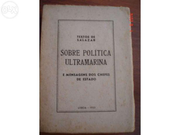 Textos de Salazar - Sobre Política Ultramarina