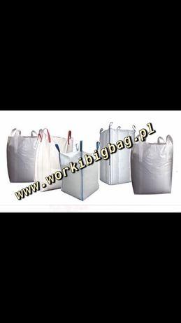 Worki Big Bag Bagi Sprzedaż Hurtowa i Detaliczna BigBag 1000kg KURIER