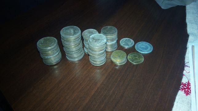 Stare monety 2zl 5zl 10zl żetony a i b