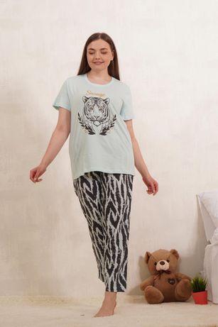 Костюм набор футболка штанв хлопок домашняя одежда Турция