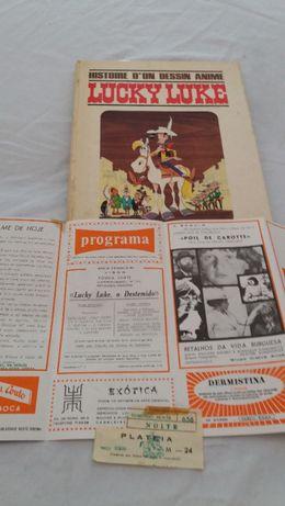 Banda Desenhada Lucky Luke História de BD