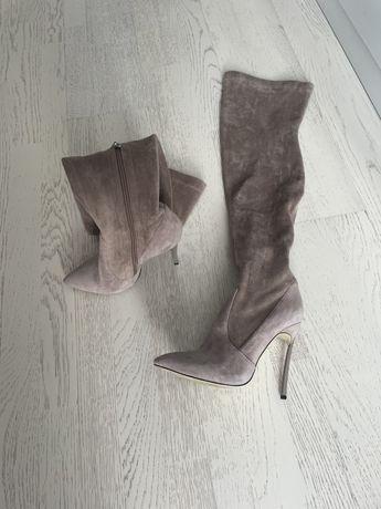 Обувь люкс замш