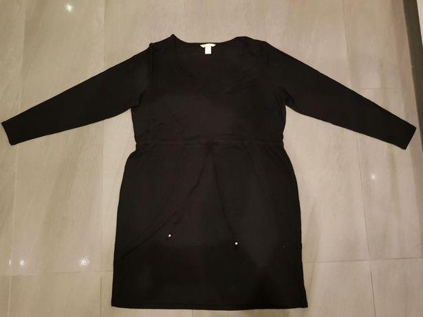 Nowa!!! Czarna Sukienka H&M MAMA