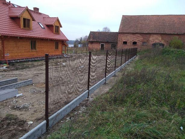 ogrodzenia montaż paneli ogrodzeniowych
