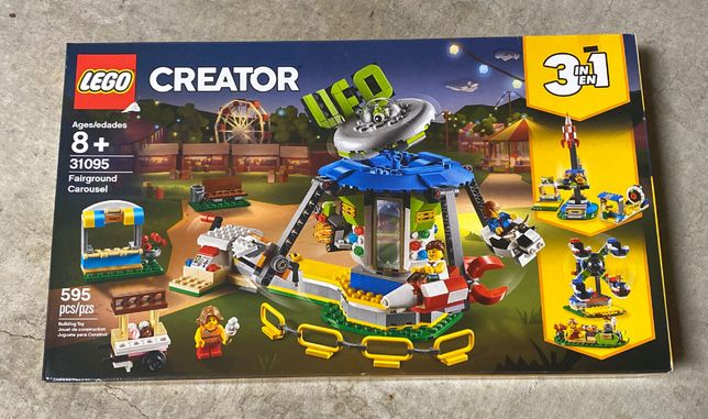 LEGO CREATOR 31095 - Karuzela w Wesołym Miasteczku - NOWA i ORYGINALNA