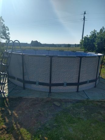 Basen ogrodowy bestway nowy 457x122