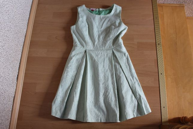 miętowa sukienka cudna rozm 38