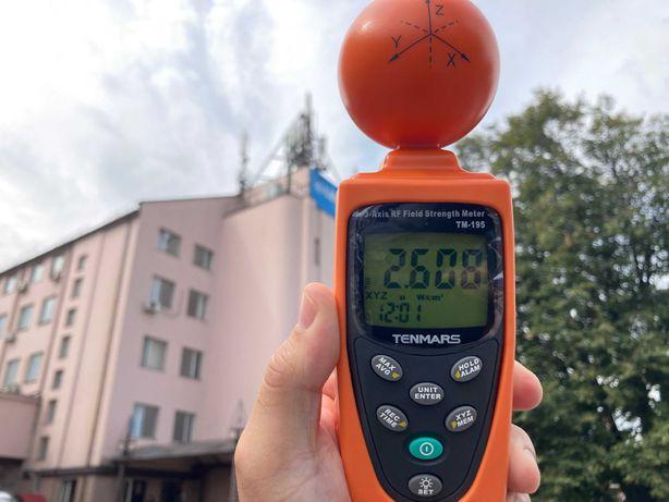 Измеритель интенсивности  электромагнитного излучения TENMARS TM-195