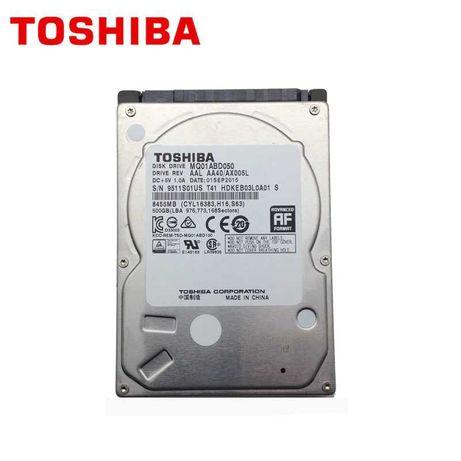 Жесткий диск для ноутбука Toshiba 500 Gb .