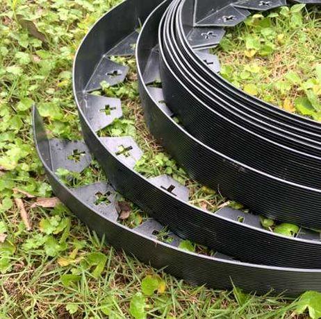 OBRZEŻE trawnikowe ELASTYCZNE 10 metrów + szpilki GRATIS