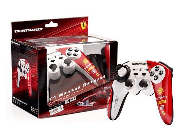 Comando TRUSTMASTER F1 Wireless Gamepad Ferrari 150th Italia F. Alonso