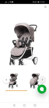 Детская коляска прогулка 4 baby Rapid Premium
