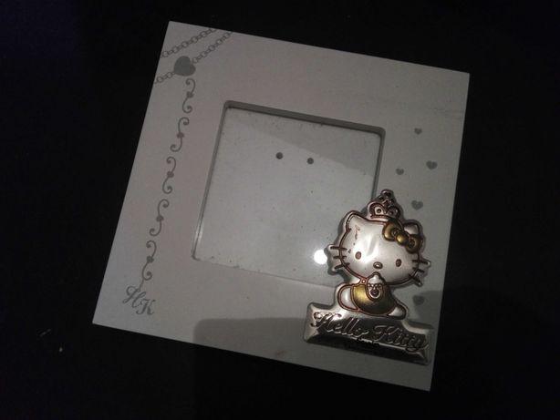 Moldura para foto - Hello Kitty, Prata