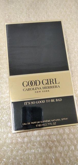 Carolina Herrera Good Girl Suoreme 80 ml edp. 100% oryginalne
