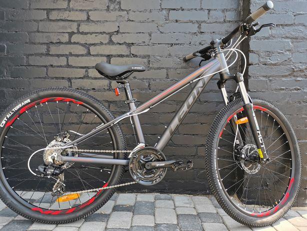 АКЦІЯ! Подарунок до велосипеду! підлітковий Leon SUPER JUNIOR 26