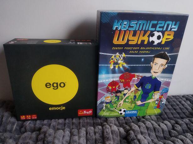Sprzedam dwie gry planszowe ( Ego Emocje, Kosmiczny Wykop )