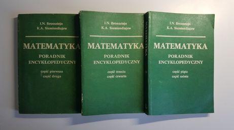MATEMATYKA - Poradnik Encyklopedyczny - część 1, 2, 3, 4, 5, 6