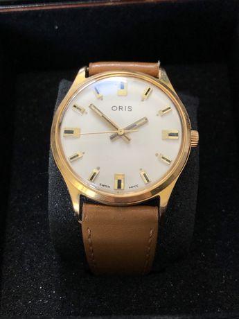 ORIS zegarek męski pozłacany