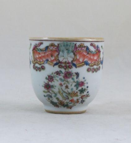 Chávena Porcelana Chinesa Companhia Índias dec Brasão nº2 Século XVIII