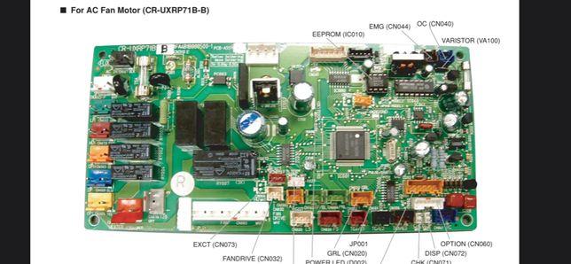 CR-UXRP71b-b Плата управления внутреннего блока кондиционера SANYO