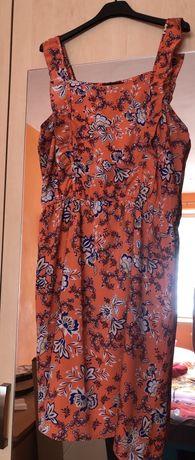 Sukienka letnia w kwiatki rozmiar XL