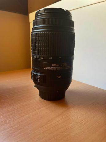 Objetiva Nikon 55-300 mm