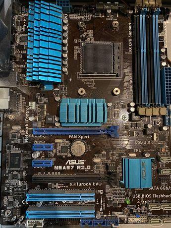 Asus m5a97 evo, FX4130